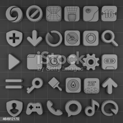 istock mobile phone icon top 464912170