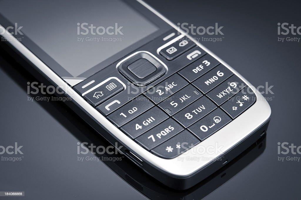 Klawiatura telefonu komórkowego zbiór zdjęć royalty-free