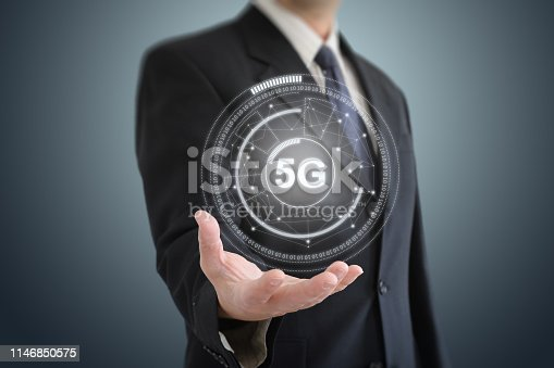 istock 5G mobile phone network security connection internet communication 1146850575