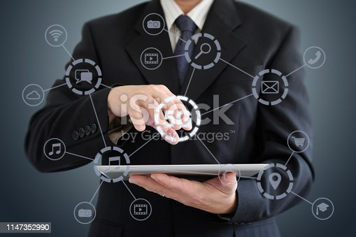 istock 5G mobile phone network security connection internet communication 1147352990