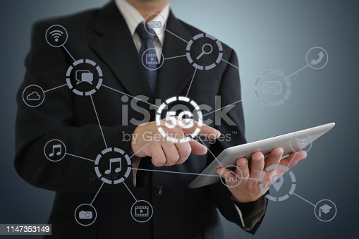 istock 5G mobile phone network security connection internet communication 1147353149