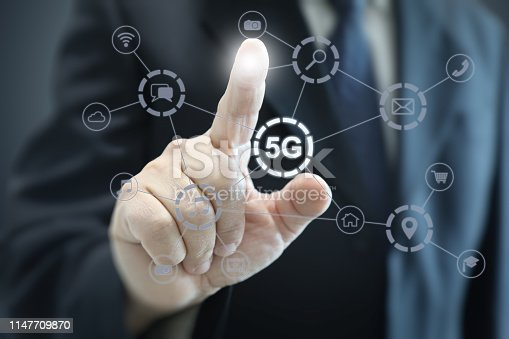 istock 5G mobile phone network security connection internet communication 1147709870