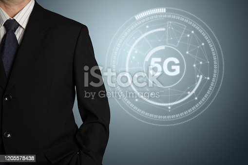 861122794 istock photo 5G mobile phone network security connection internet communication 1205578438