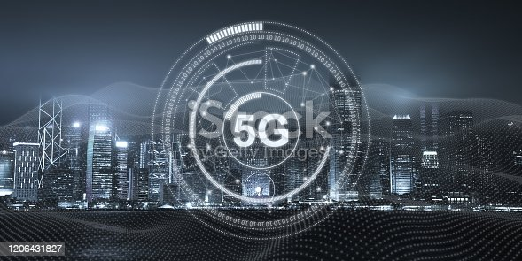 1090039252 istock photo 5G mobile phone network security connection internet communication 1206431827