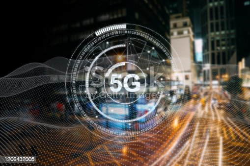 1090039252 istock photo 5G mobile phone network security connection internet communication 1206432005