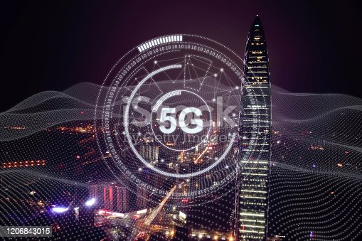 1090039252 istock photo 5G mobile phone network security connection internet communication 1206843015