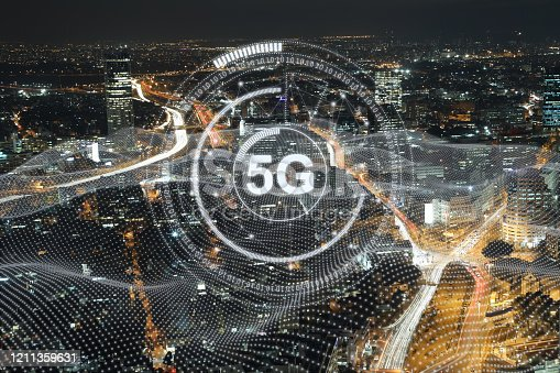 1090039252 istock photo 5G mobile phone network security connection internet communication 1211359631