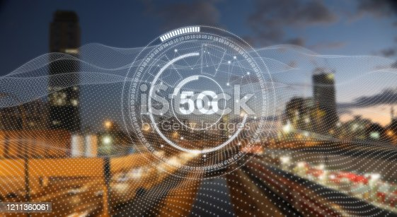 1090039252 istock photo 5G mobile phone network security connection internet communication 1211360061