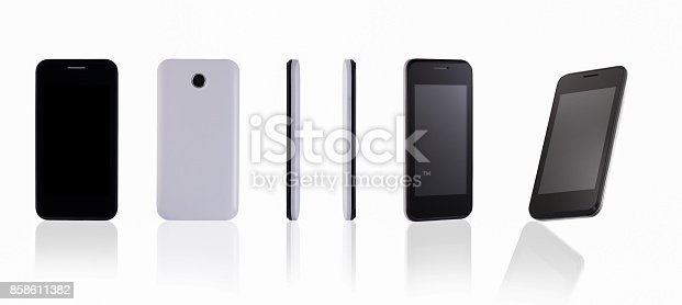 istock mobile phone on white background 858611382