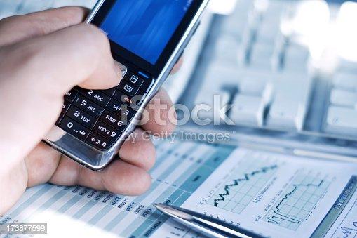 istock Mobile phone 173877599