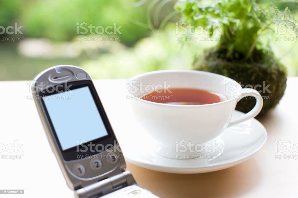 Mobile phone royalty-free stock photo