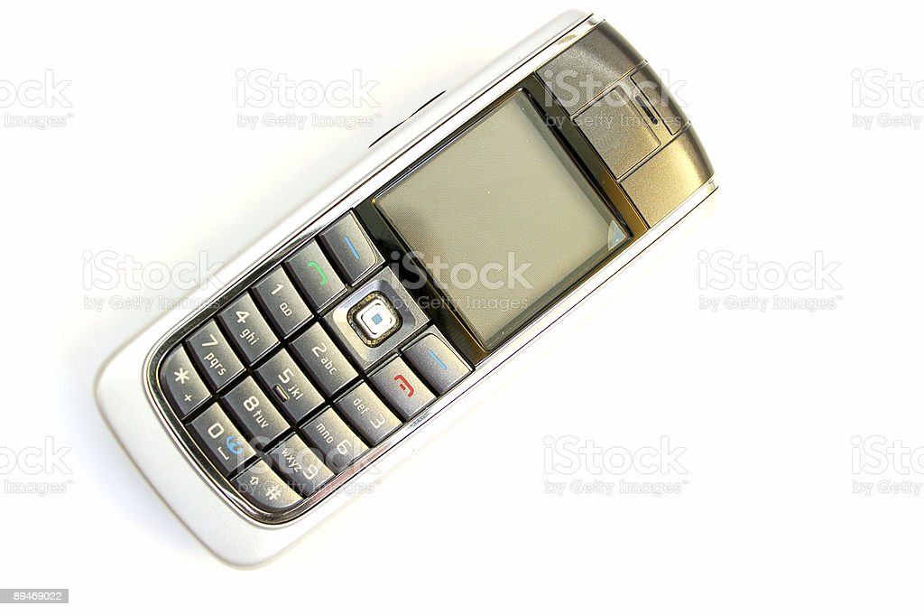 mobile phone #5 royalty-free stock photo