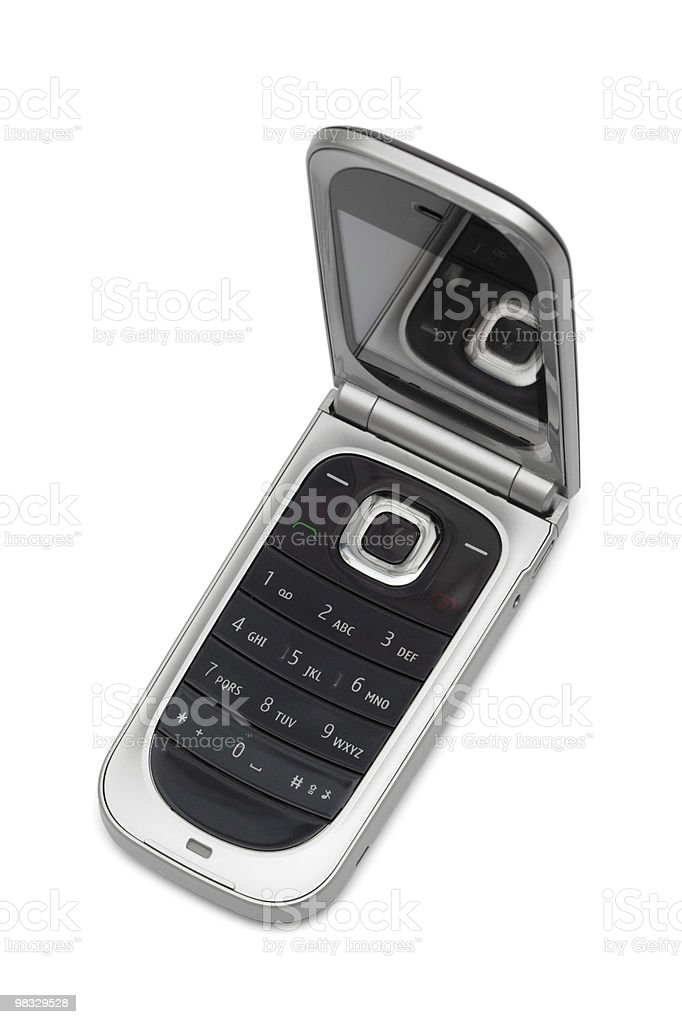 Telefono cellulare foto stock royalty-free