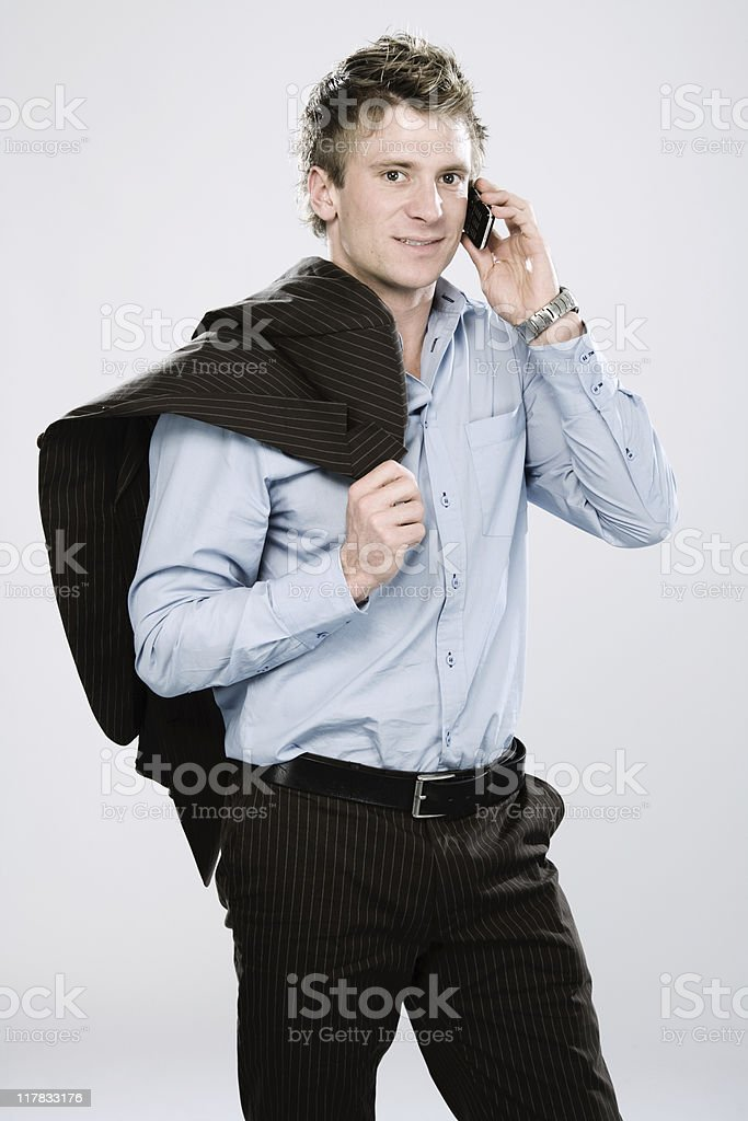 Mobile Phone Portraits royalty-free stock photo