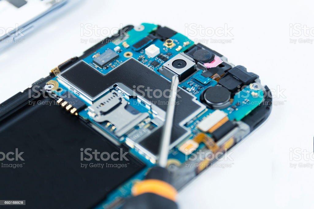 Handy-Reparatur – Foto