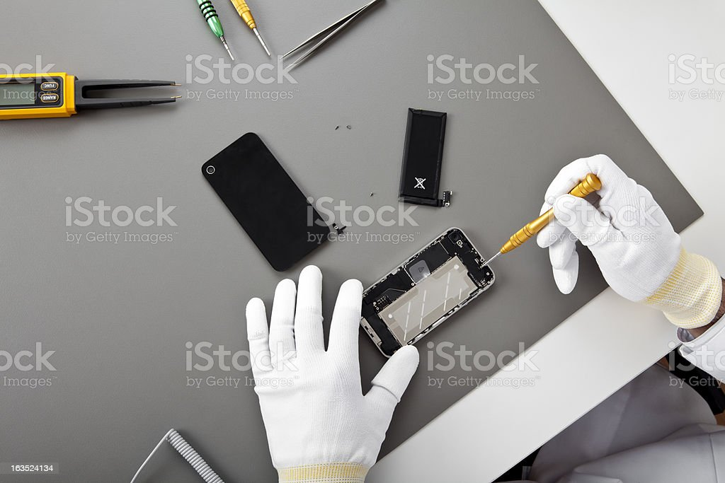 Mobile Phone Service stock photo