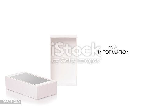 istock Mobile phone smartphone in box pattern 936544060