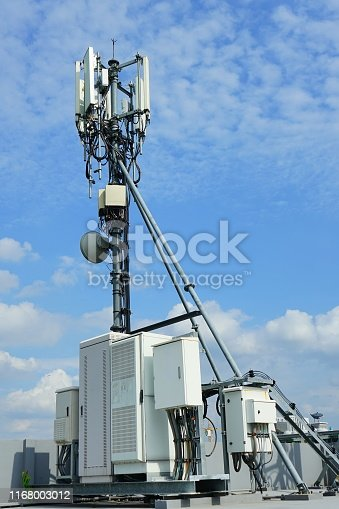 1169777785istockphoto Mobile phone towers and 3G and 4G system 1168003012