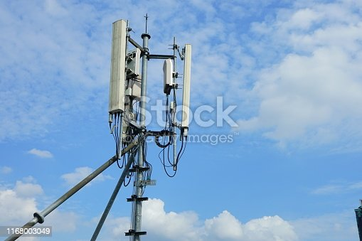 1169777785istockphoto Mobile phone towers and 3G and 4G system 1168003049