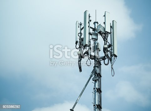 1169777785istockphoto Mobile phone towers and 3G and 4G system 925386292