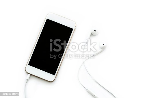 Mobile phone with headphone