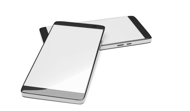 mobile phones 3d-illustration stock photo