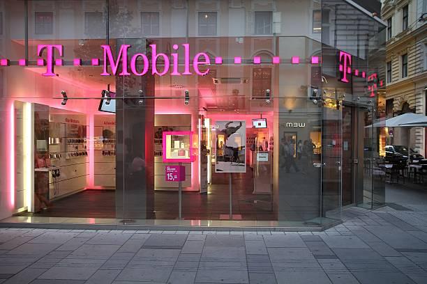 T Mobile stock photo