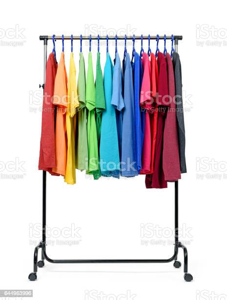 Mobile rack with color clothes on white background picture id644963996?b=1&k=6&m=644963996&s=612x612&h=bgy3radtsxunguppf v1ujoprqwpsr4q 8zs475qtcg=