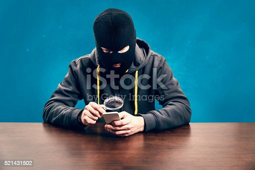 istock Mobile security concept 521431502