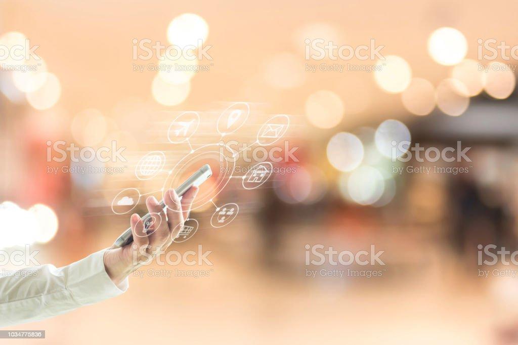 Mobile Service App For Business Enterprise On Digital