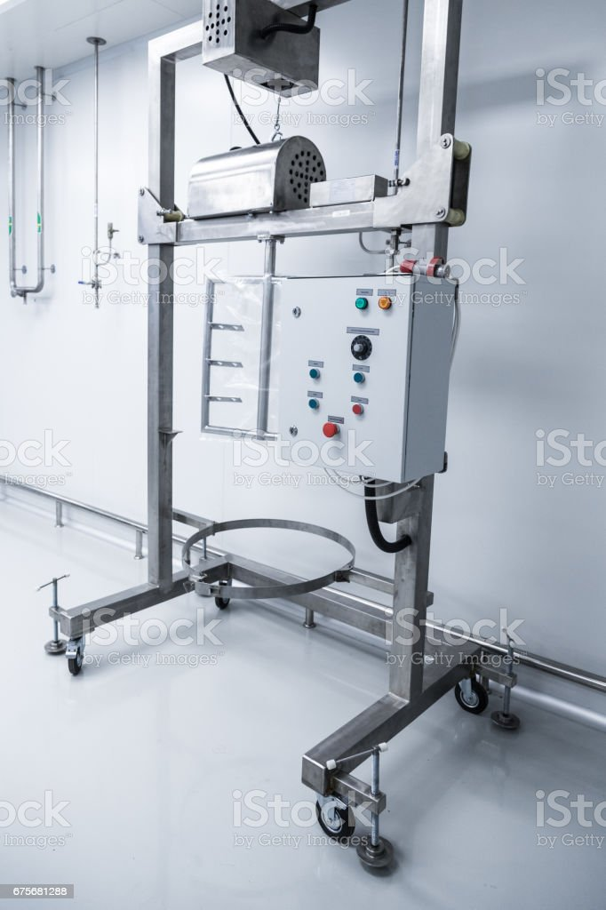 mobile stand with control panel, equipment royalty-free stock photo