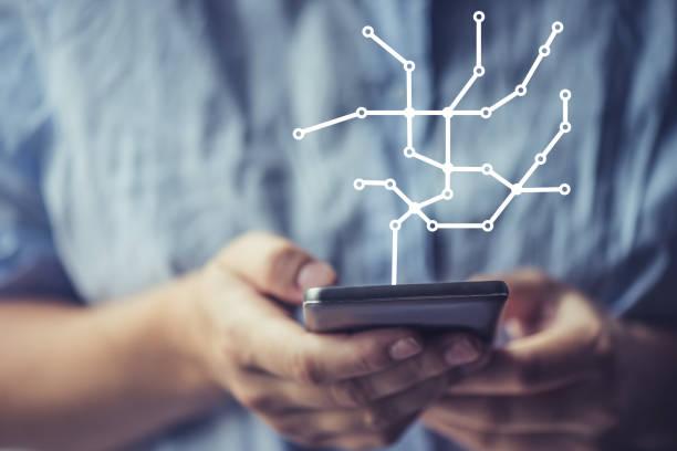 Mobile Technik hilft ihr, sich zu organisieren – Foto