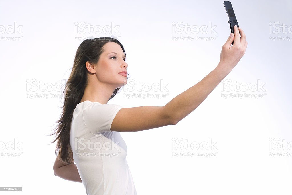 mobile-phone photography royalty-free stock photo