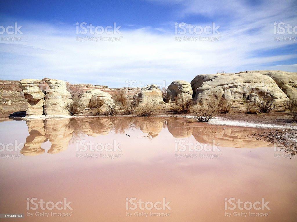 mobilestock badlands lake royalty-free stock photo