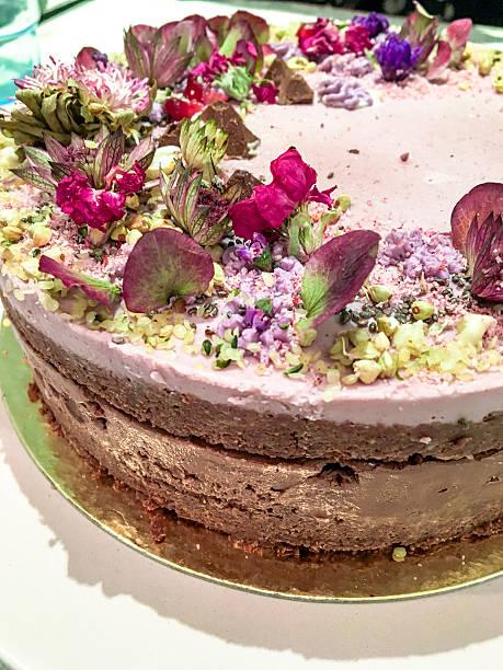 Excellent Mobilestock Gluten Free Birthday Cake Stock Photo Download Image Funny Birthday Cards Online Overcheapnameinfo