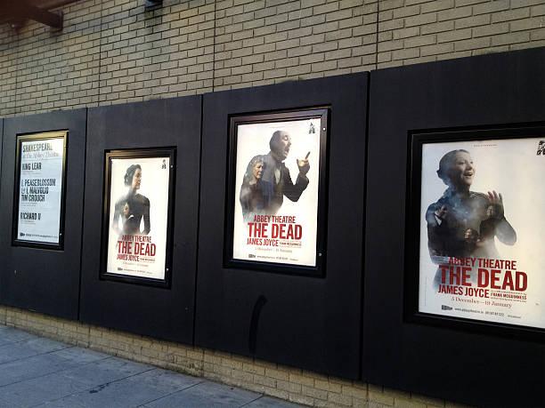 Mobilestock Abbey Theatre Posters Stock Photo
