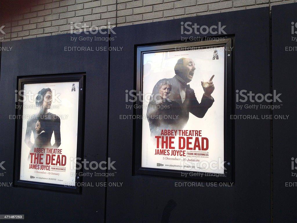 Mobilestock-Abbey Theatre posters stock photo
