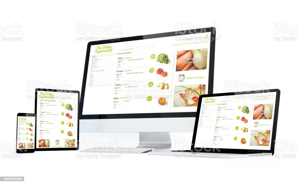 Mobilität-Geräte Online-Supermarkt – Foto