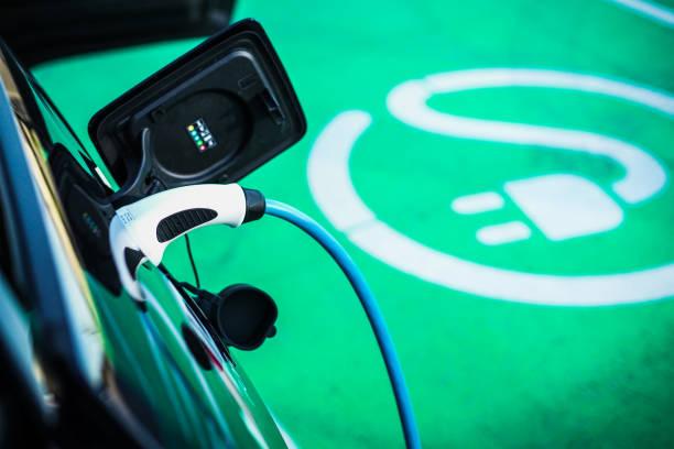 e mobility - auto a combustibile alternativo foto e immagini stock