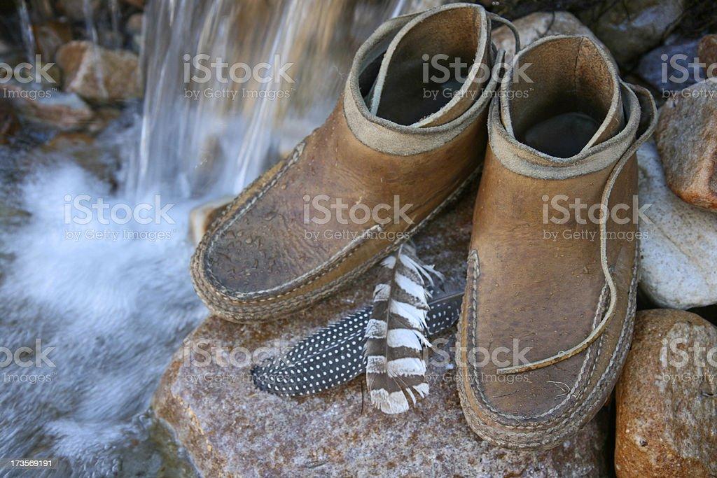 moccasins stock photo