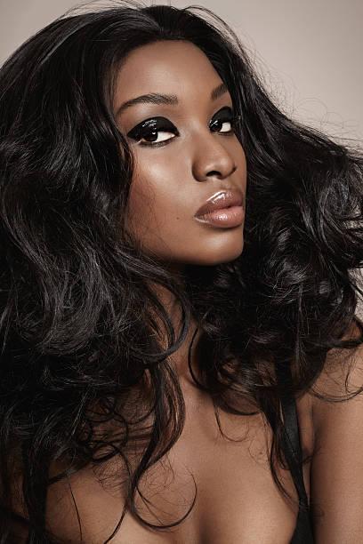 Mocha Beauty stock photo