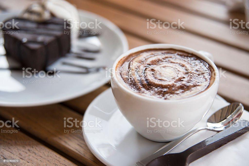 Mocha Coffee stock photo