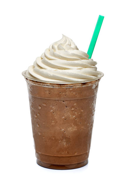 Mocha frappuccino stock photo