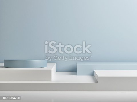 1079254746istockphoto Mock up abstract winner podium room 1079254720