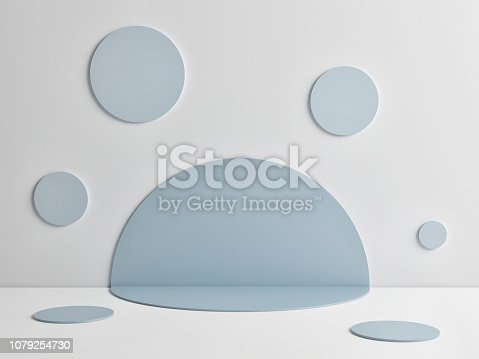 1079254746istockphoto Mock up abstract winner podium room 1079254730
