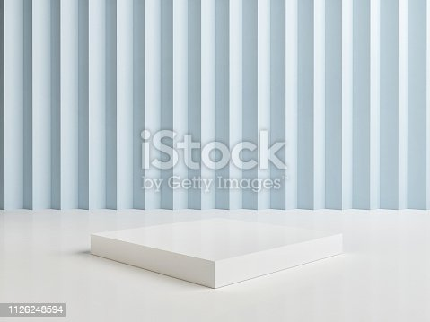 1079254746istockphoto Mock up abstract winner podium room 1126248594