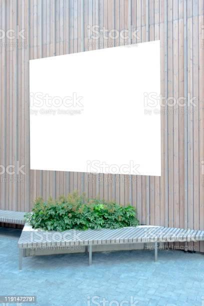Mock up blank billboard poster frame advertising board on wooden wall picture id1191472791?b=1&k=6&m=1191472791&s=612x612&h=zmpdgmlbxti1qkalsbbkhmeqyzzuam hntqhkxhfqhy=