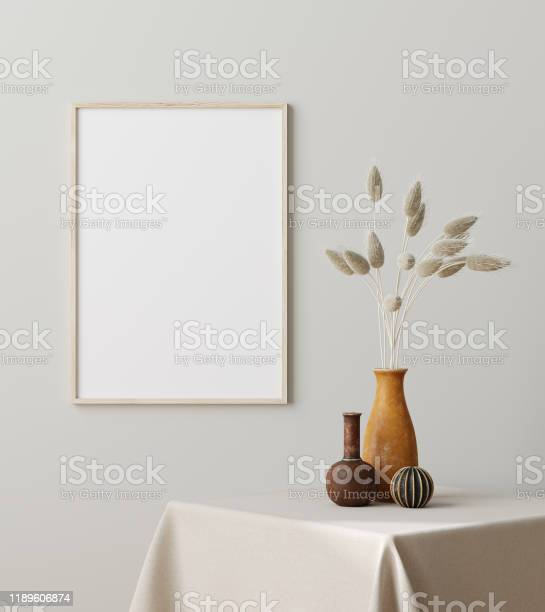 Mock up frame close up with dry grass in vase on table scandinavian picture id1189606874?b=1&k=6&m=1189606874&s=612x612&h=yizxharbvxtxyv fwl9o5lcwafc rcipwhjtdfbrmgg=