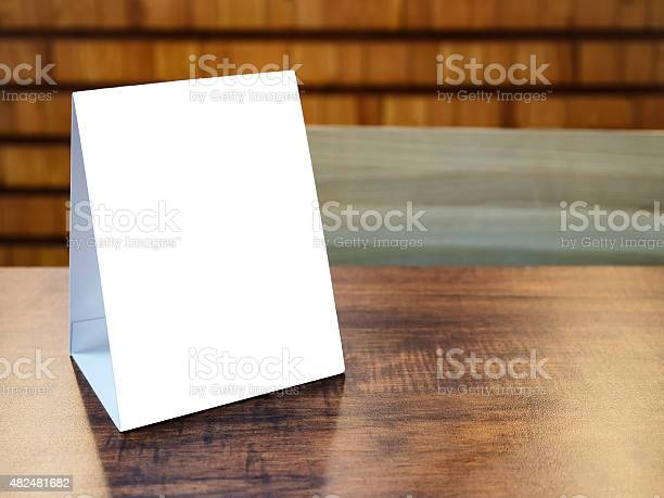 Mock up menu frame template on table in restaurant cafe picture id482481682?b=1&k=6&m=482481682&s=612x612&h=1svkg6lfvbkbb3ceqpyvio8hj7cylhdxo6ewql pe9c=