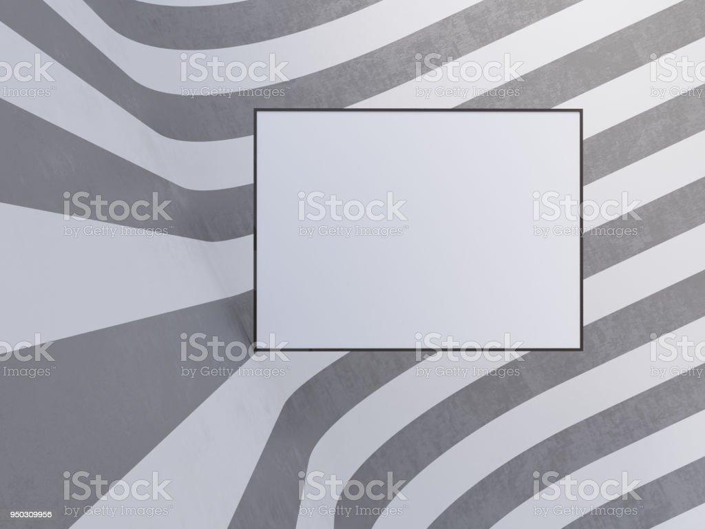Mockup Poster Hintergrund 3d Illustration Vorlage Textur Textur